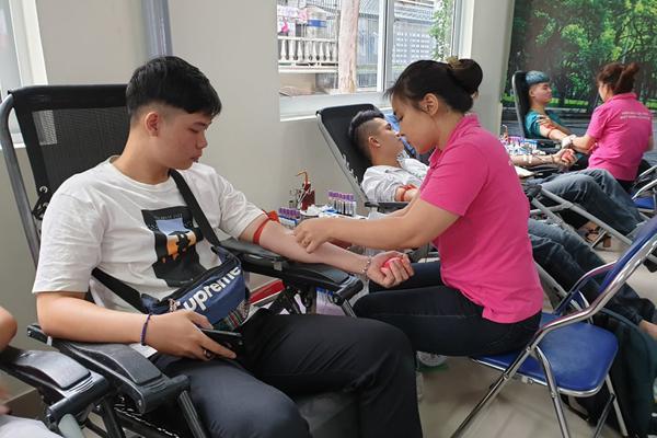 Hà Nội có thêm điểm hiến máu ngoại viện thứ hai Ảnh 1