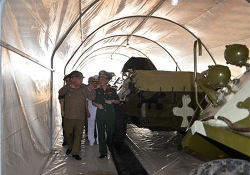 Cuba hỗ trợ Việt Nam công nghệ bảo quản xe thiết giáp Ảnh 1