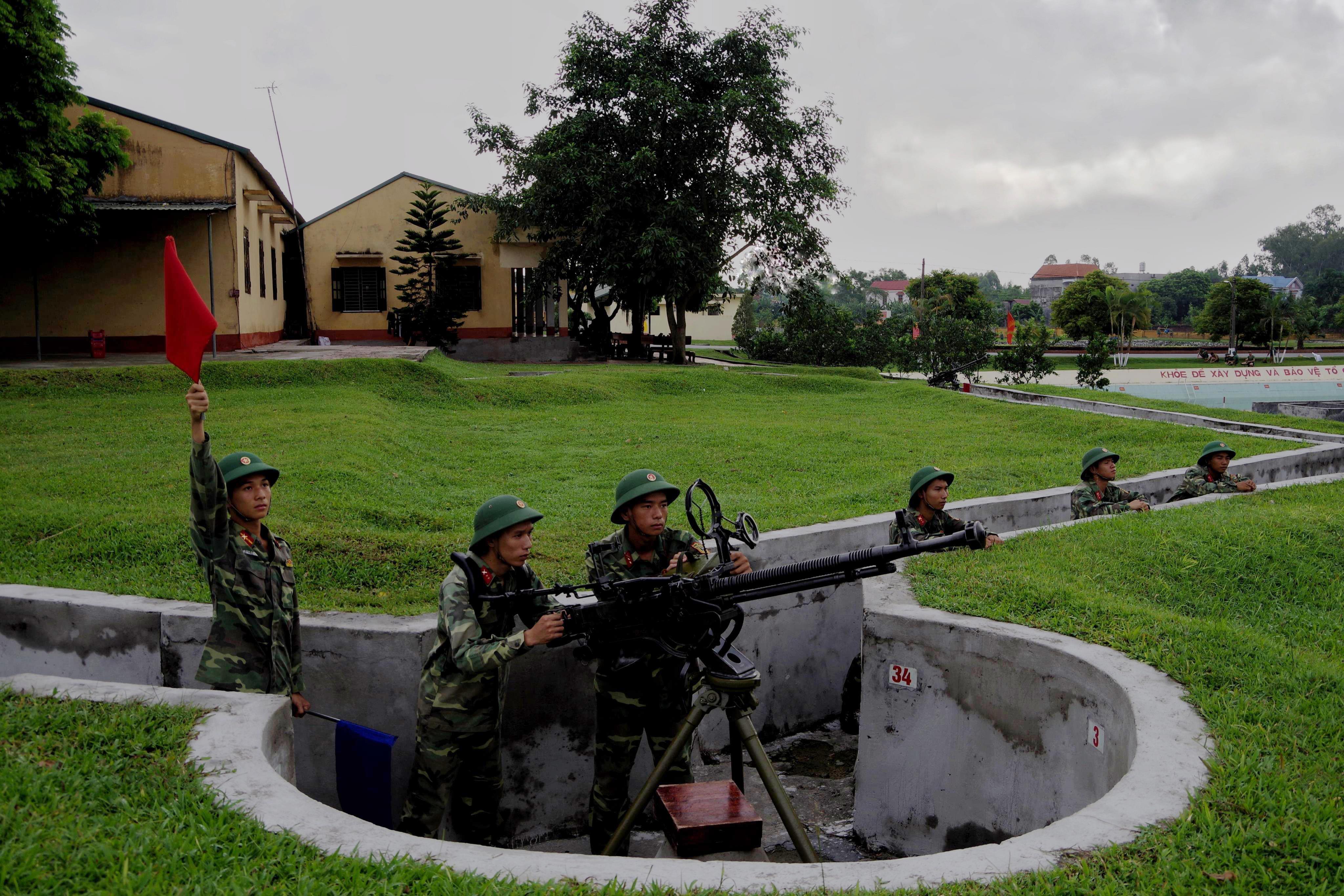 Ngày mưa ở Trung đoàn Sông Lô quyết thắng Ảnh 1