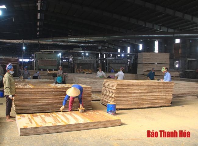 Tổng giá trị sản xuất huyện Triệu Sơn đạt 77% kế hoạch Ảnh 1