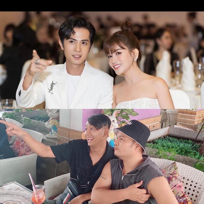 Lần đầu dự sự kiện cùng Sĩ Thanh sau khi công khai tình yêu lệch 6 tuổi, Huỳnh Phương bị hội anh em FAP TV 'cà khịa' muối mặt thế này Ảnh 1