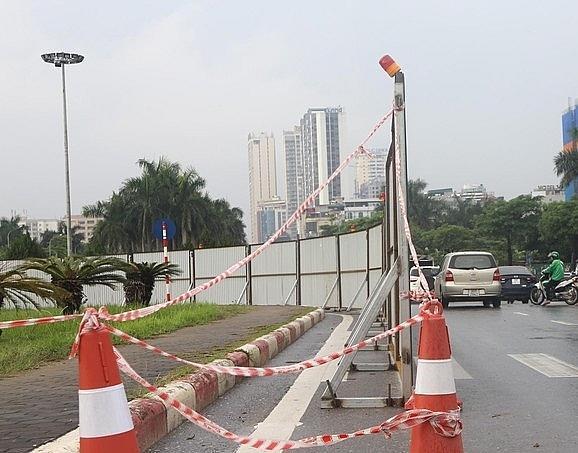 Hạn chế tối đa ùn tắc giao thông tại khu vực thi công đường đua F1 Ảnh 1