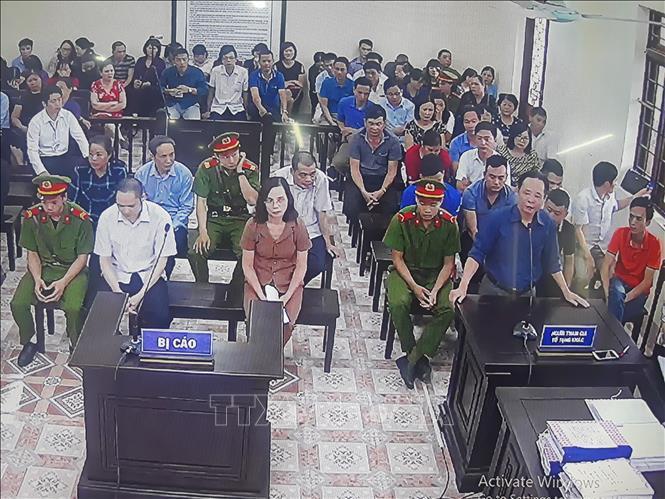 Phiên tòa xét xử vụ gian lận điểm thi ở Hà Giang kéo dài thêm 2 ngày Ảnh 1