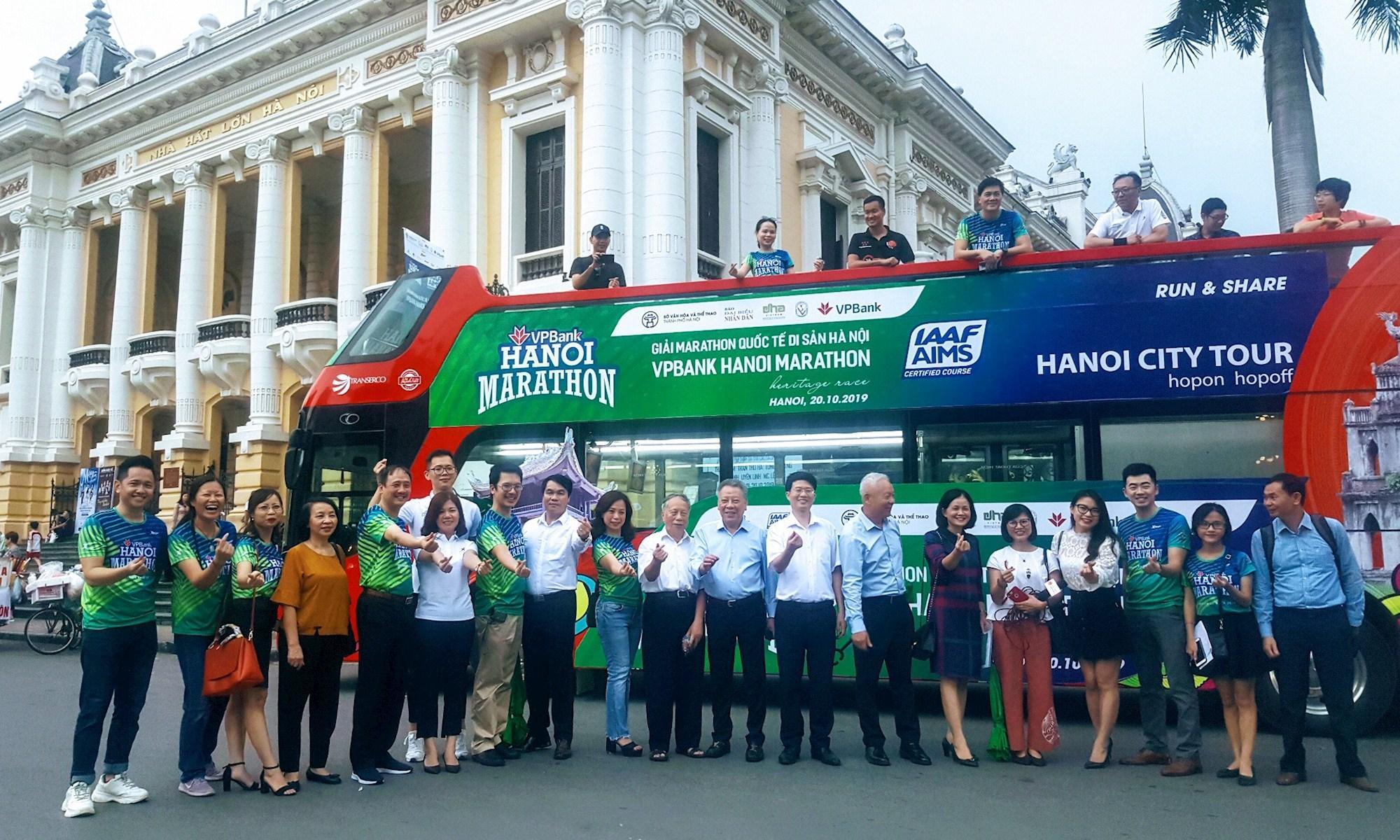 Hơn 7.000 người tham dự Giải chạy Marathon quốc tế di sản Hà Nội năm 2019 Ảnh 1