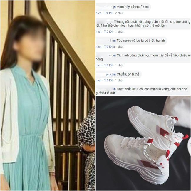 Cả năm con dâu mới mua được một đôi giày lại bị mẹ chồng chì chiết 'ăn hoang phá hoại' và màn đáp trả của cô khiến hội chị em hả hê ủng hộ Ảnh 1