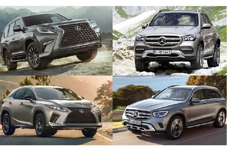 Điểm mặt SUV Lexus và Mercedes-Benz mới tại VMS 2019 Ảnh 1
