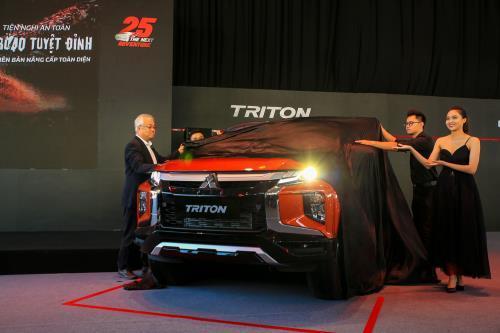 Mitsubishi ra mắt 5 phiên bản Triton 2020 có 12 điểm nâng cấp nổi bật Ảnh 1