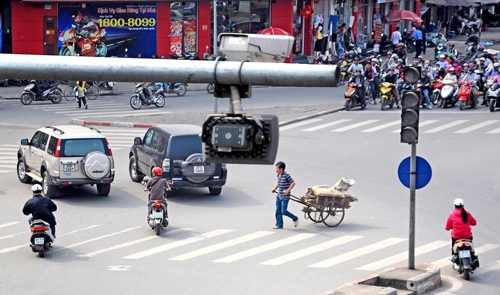 Hà Nội: Thu hơn 2 tỷ đồng tiền phạt nguội Ảnh 1