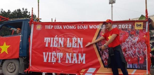 'CĐV Việt Nam hãy văn minh dù kết quả với UAE ra sao' Ảnh 1