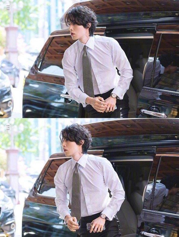 'Thần chết' Lee Dong Wook đẹp như nam thần công sở hồn triệu fans Ảnh 2
