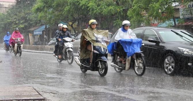 Bắc Bộ tuần tới có mưa dông Ảnh 1