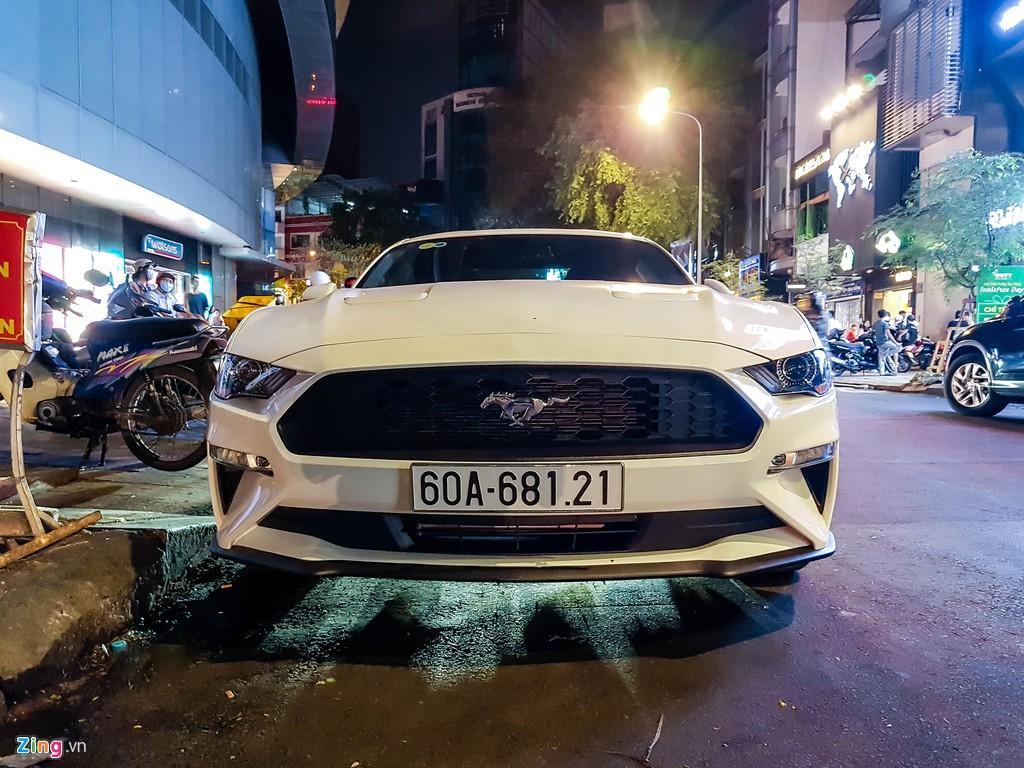 Ford Mustang facelift hàng hiếm xuất hiện tại TP.HCM Ảnh 2