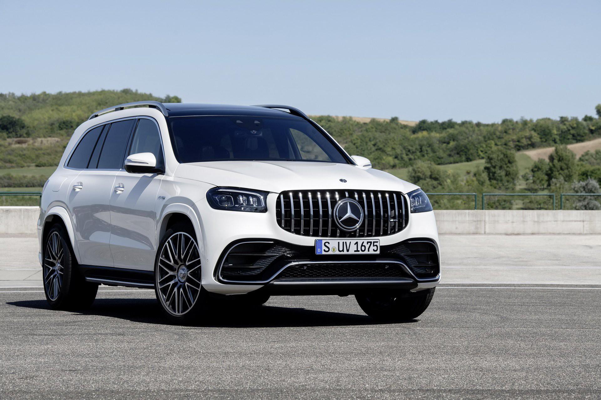 Khám phá Mercedes GLS 63 2020 vừa ra mắt Ảnh 8