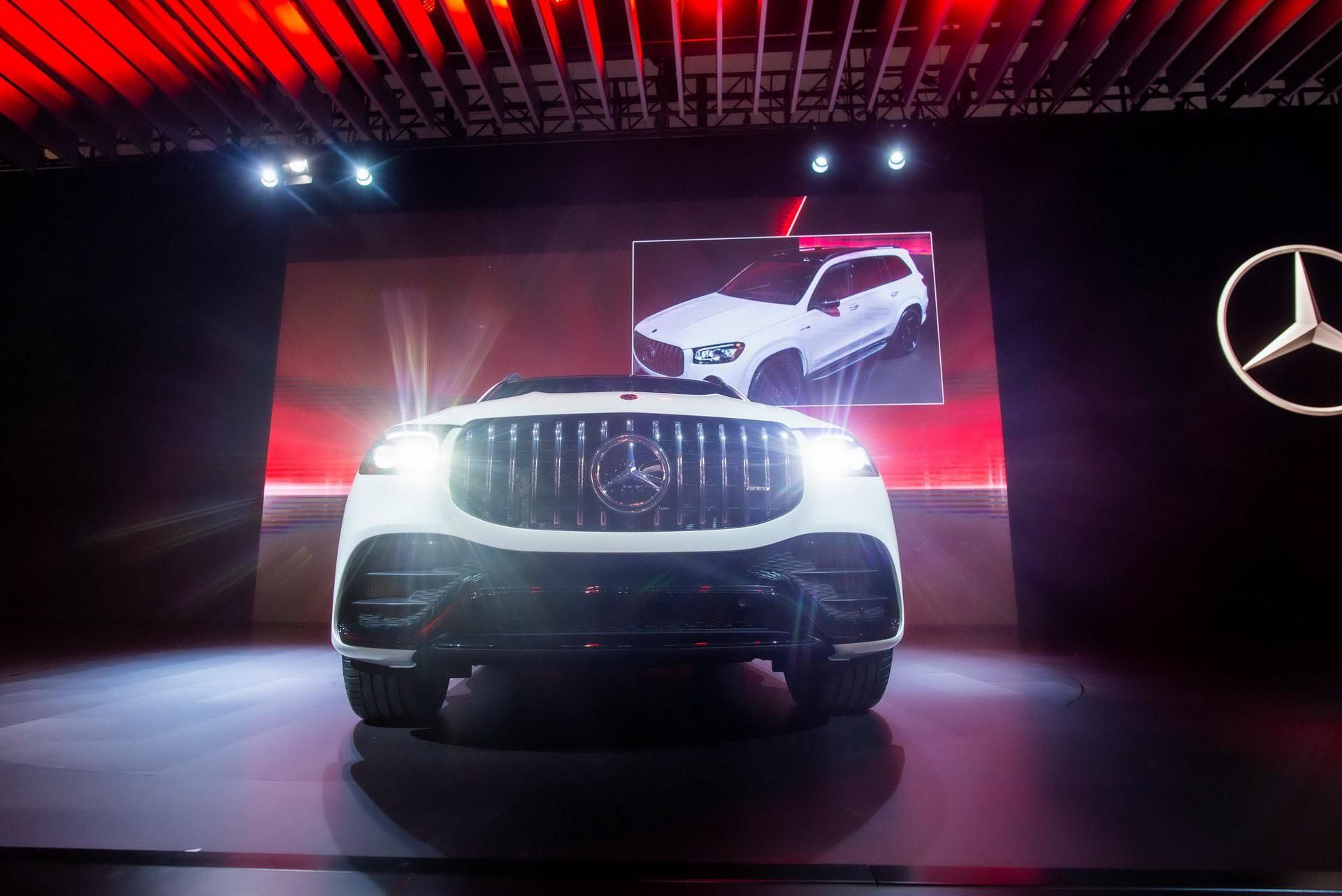 Khám phá Mercedes GLS 63 2020 vừa ra mắt Ảnh 9
