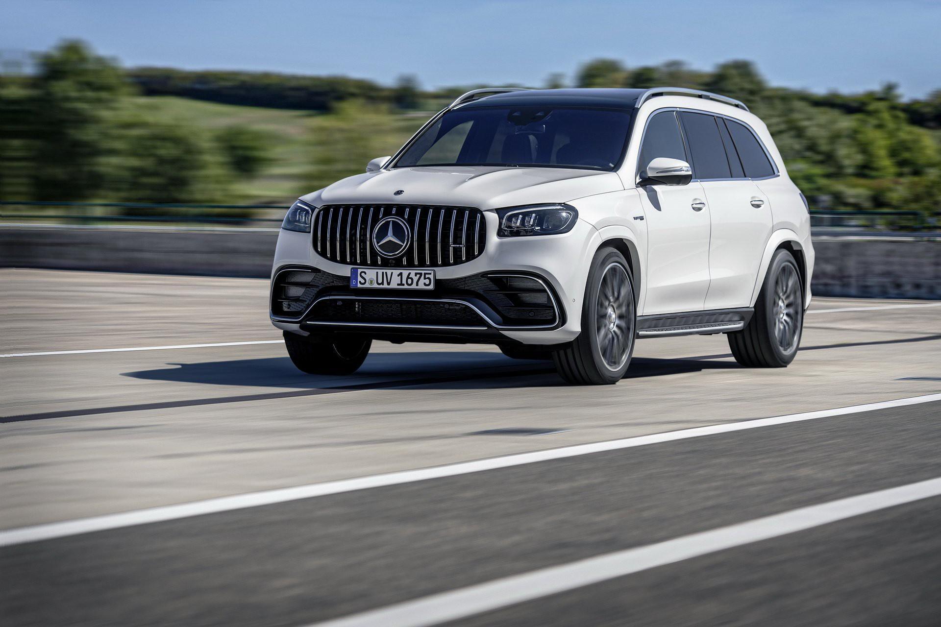 Khám phá Mercedes GLS 63 2020 vừa ra mắt Ảnh 4