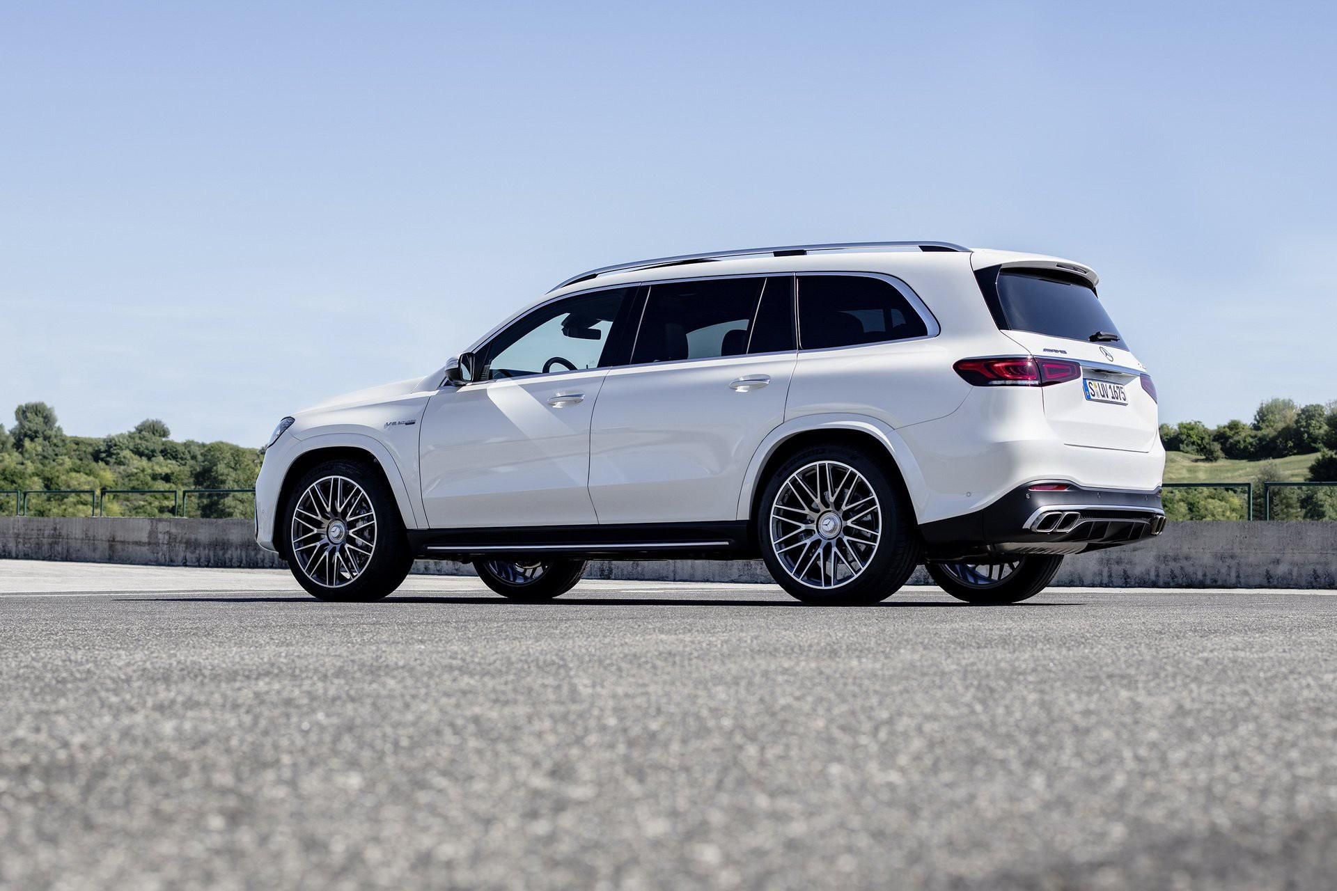 Khám phá Mercedes GLS 63 2020 vừa ra mắt Ảnh 6