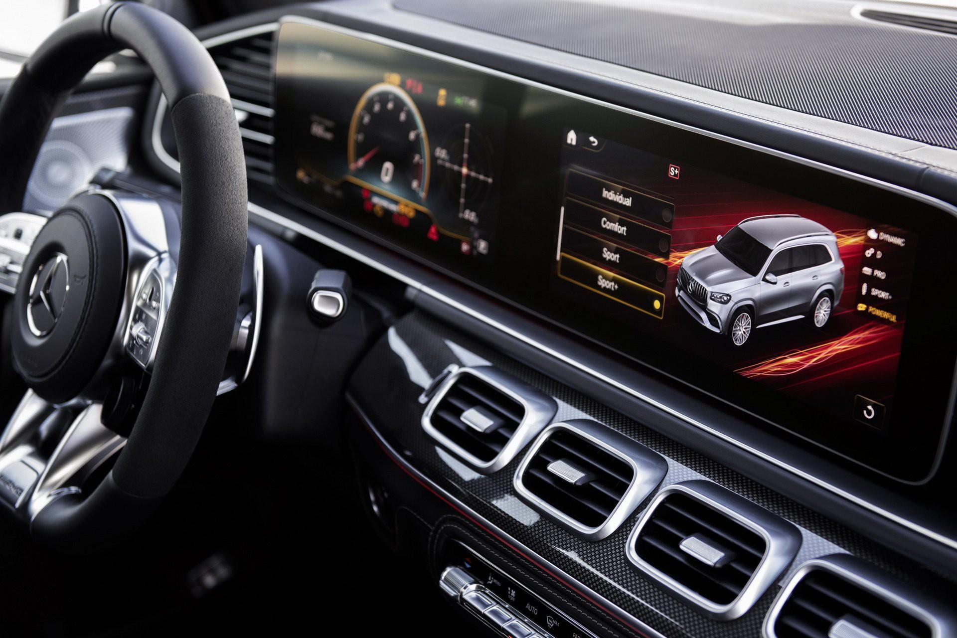 Khám phá Mercedes GLS 63 2020 vừa ra mắt Ảnh 11