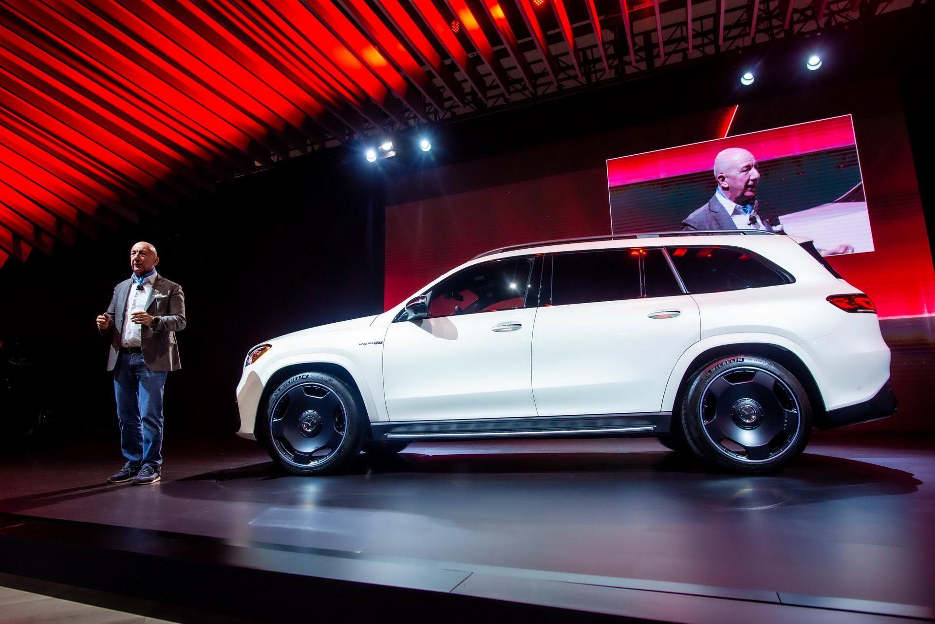 Khám phá Mercedes GLS 63 2020 vừa ra mắt Ảnh 2