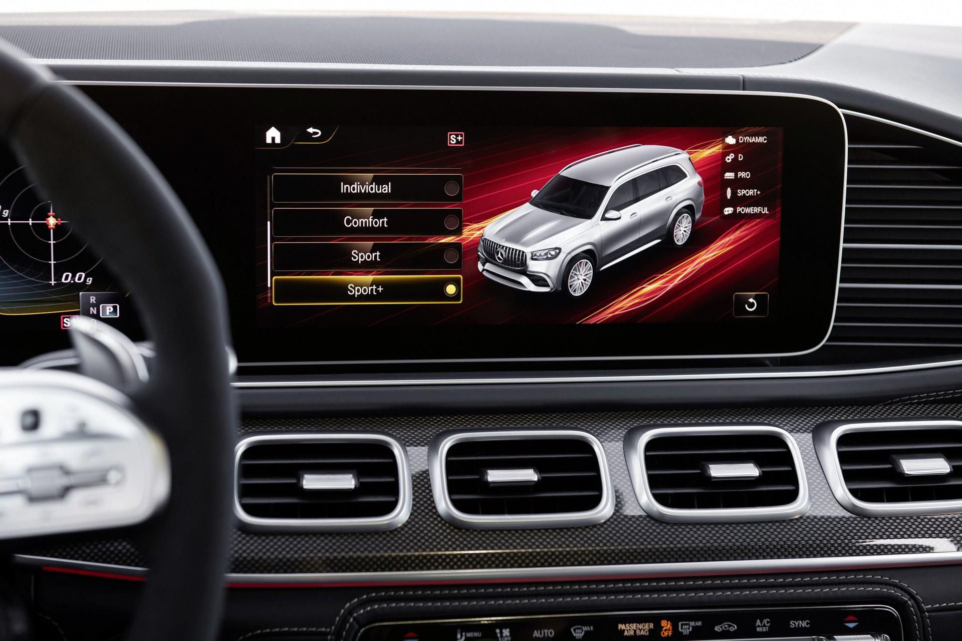 Khám phá Mercedes GLS 63 2020 vừa ra mắt Ảnh 14