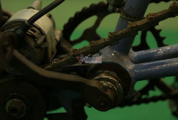 Xe đạp cổ 109 năm tuổi hàng hiếm giá hơn 200 triệu ở Hà Nội Ảnh 3