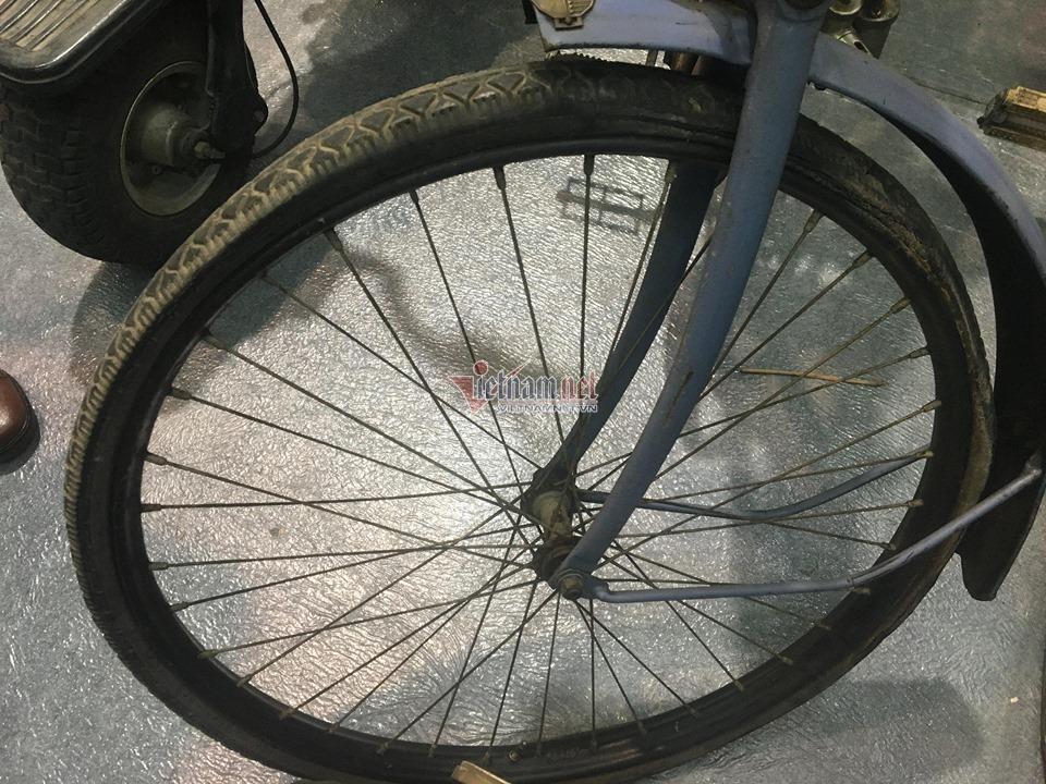 Xe đạp cổ 109 năm tuổi hàng hiếm giá hơn 200 triệu ở Hà Nội Ảnh 5