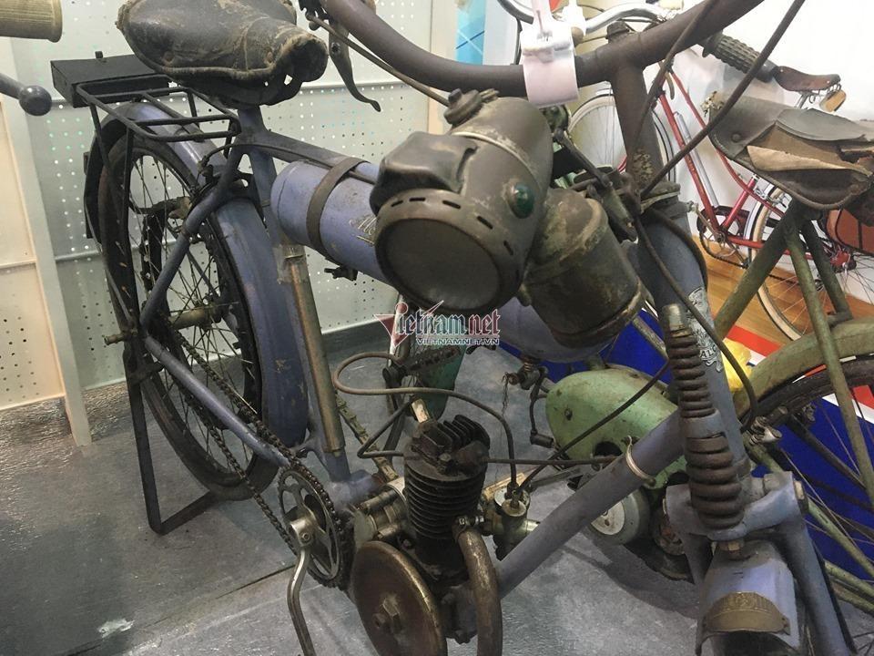 Xe đạp cổ 109 năm tuổi hàng hiếm giá hơn 200 triệu ở Hà Nội Ảnh 1