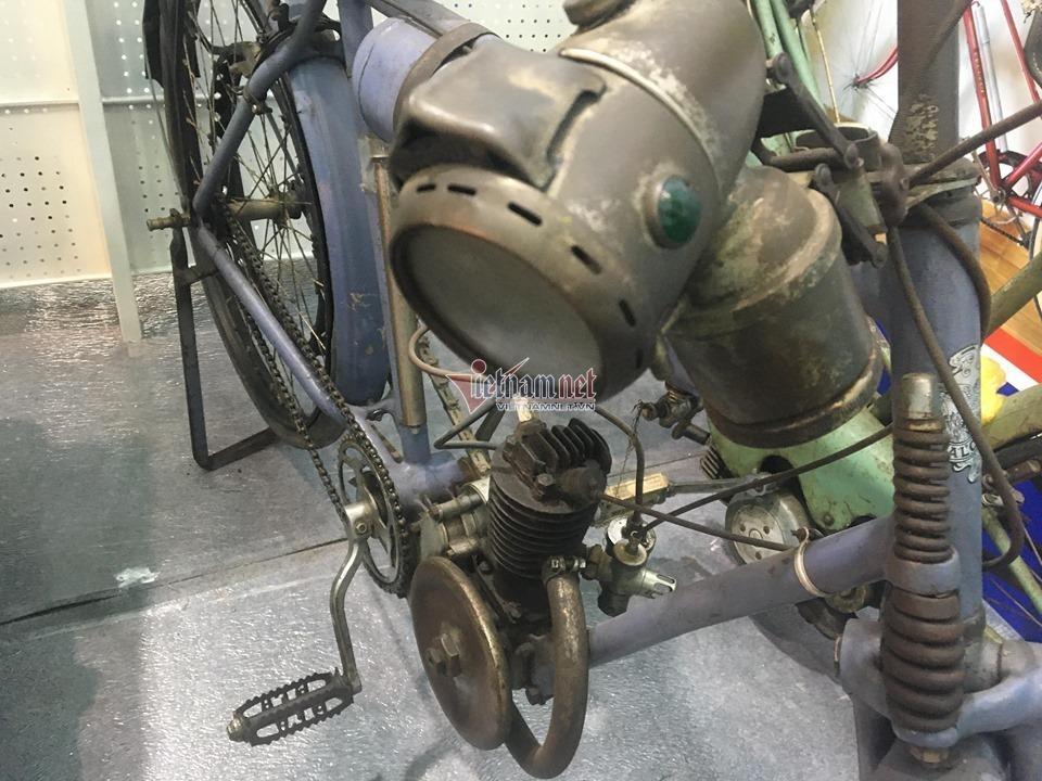 Xe đạp cổ 109 năm tuổi hàng hiếm giá hơn 200 triệu ở Hà Nội Ảnh 4