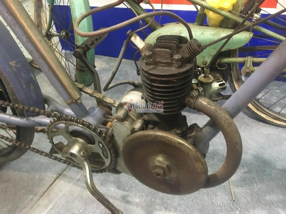 Xe đạp cổ 109 năm tuổi hàng hiếm giá hơn 200 triệu ở Hà Nội Ảnh 6