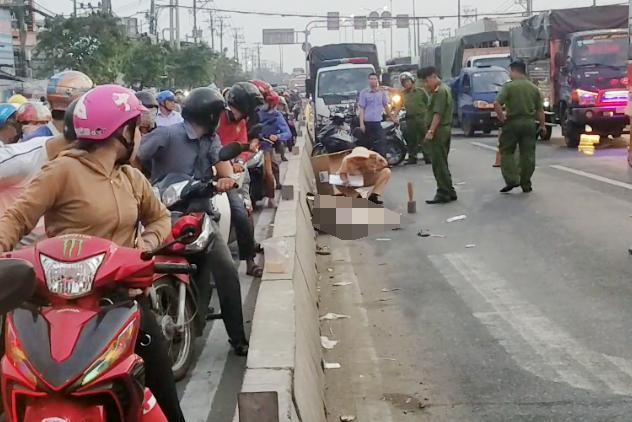 Phát hiện người đàn ông tử vong trên quốc lộ Ảnh 1