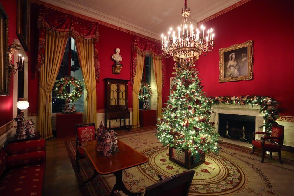 Ngắm không khí Giáng sinh 2019 - 'Tinh thần của nước Mỹ' tại Nhà Trắng Ảnh 4