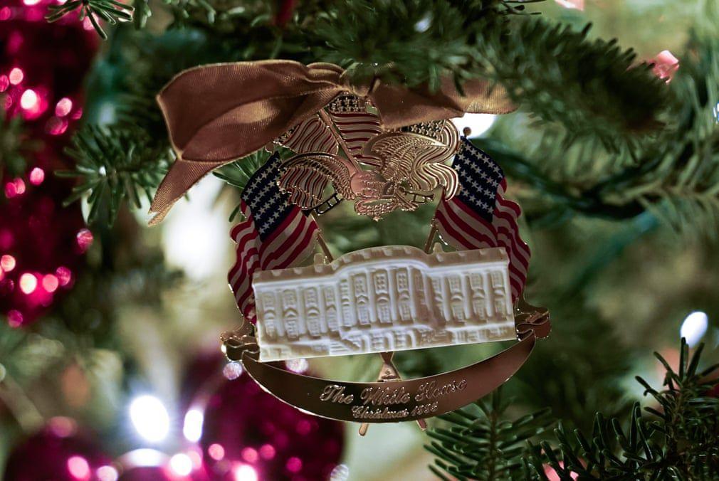 Ngắm không khí Giáng sinh 2019 - 'Tinh thần của nước Mỹ' tại Nhà Trắng Ảnh 8