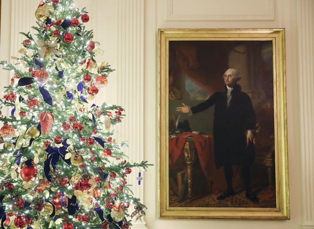 Ngắm không khí Giáng sinh 2019 - 'Tinh thần của nước Mỹ' tại Nhà Trắng Ảnh 3