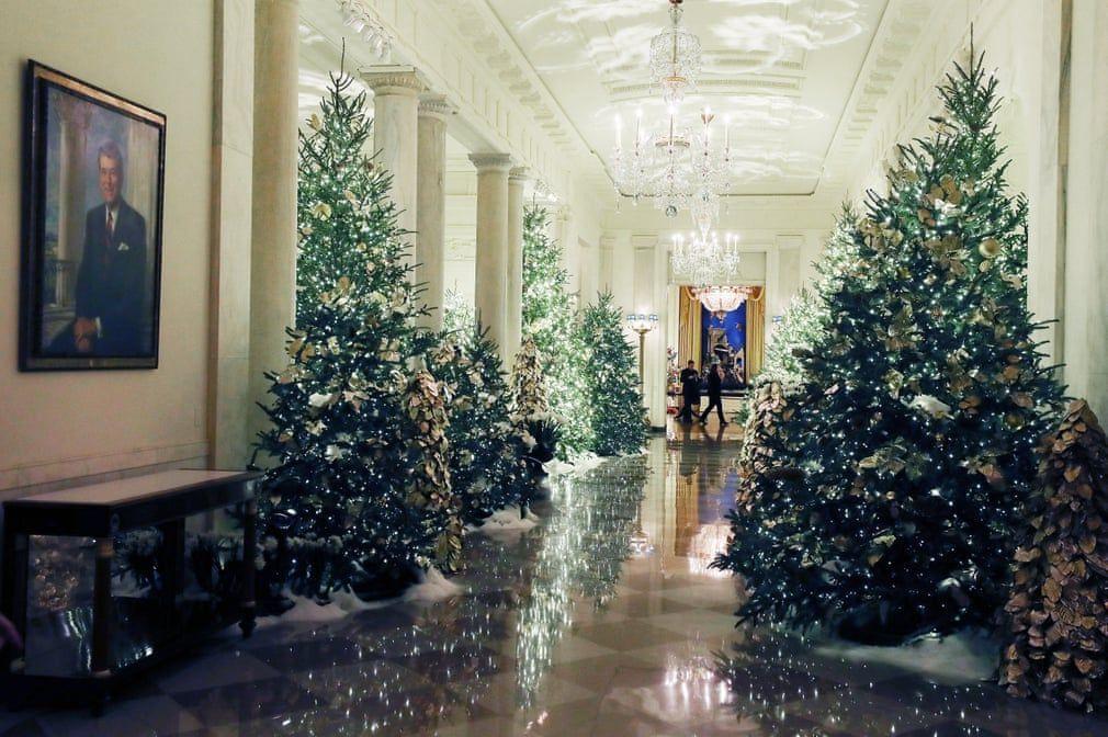 Ngắm không khí Giáng sinh 2019 - 'Tinh thần của nước Mỹ' tại Nhà Trắng Ảnh 2