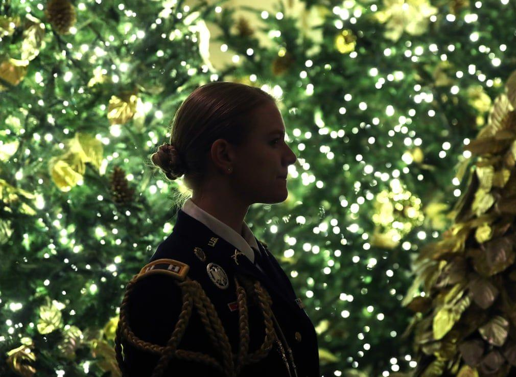 Ngắm không khí Giáng sinh 2019 - 'Tinh thần của nước Mỹ' tại Nhà Trắng Ảnh 9