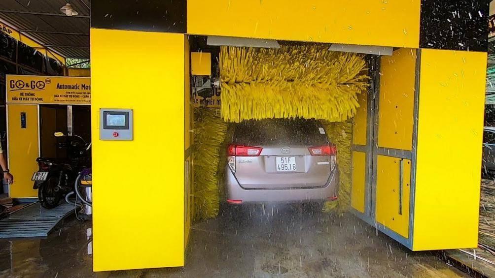 Máy rửa xe tự động giá bao nhiêu, có nên đầu tư làm dịch vụ? Ảnh 1