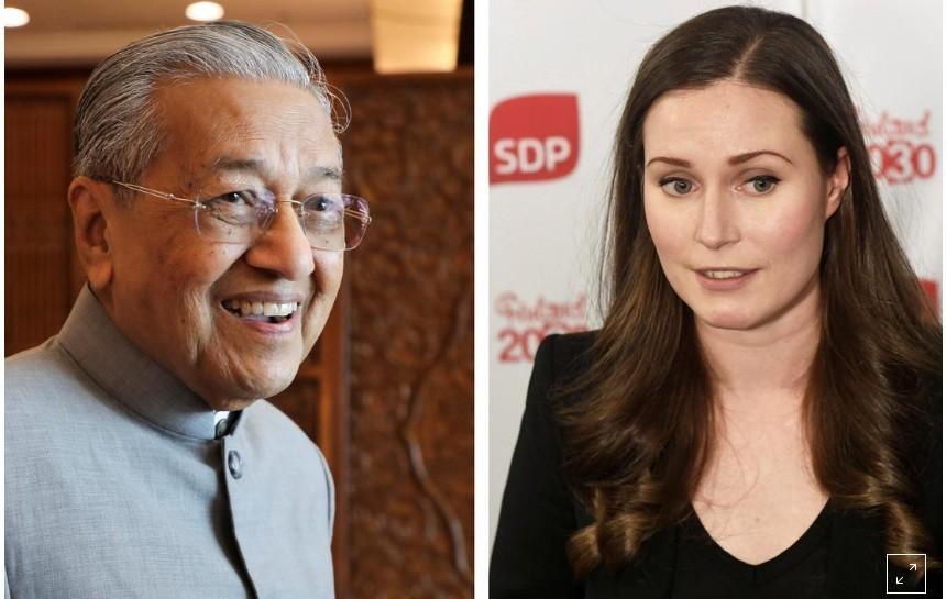 Thủ tướng cao tuổi nhất nói gì với tân Thủ tướng trẻ nhất thế giới? Ảnh 1