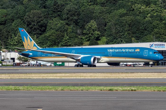 Siêu máy bay Boeing 787-10 đón thầy trò HLV Park Hang-seo trở về từ SEA Games 30 có gì đặc biệt? Ảnh 4