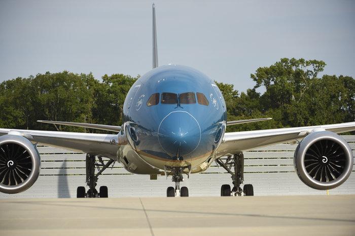 Siêu máy bay Boeing 787-10 đón thầy trò HLV Park Hang-seo trở về từ SEA Games 30 có gì đặc biệt? Ảnh 8