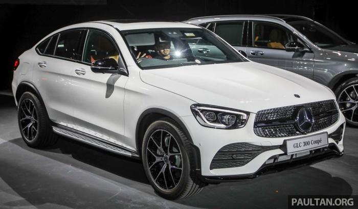 Mercedes-Benz GLC 300 Coupe 2020 ra mắt tại Malaysia, giá từ 2,33 tỷ đồng Ảnh 2