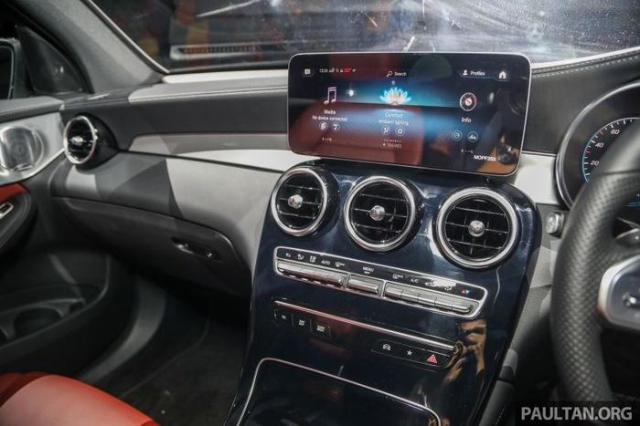 Mercedes-Benz GLC 300 Coupe 2020 ra mắt tại Malaysia, giá từ 2,33 tỷ đồng Ảnh 6