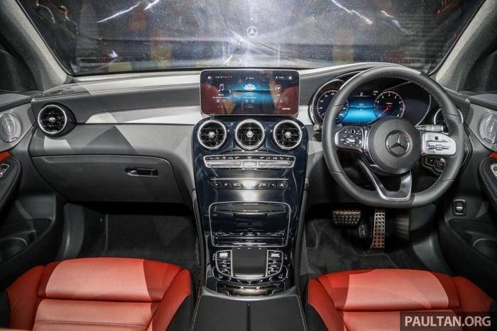 Mercedes-Benz GLC 300 Coupe 2020 ra mắt tại Malaysia, giá từ 2,33 tỷ đồng Ảnh 5
