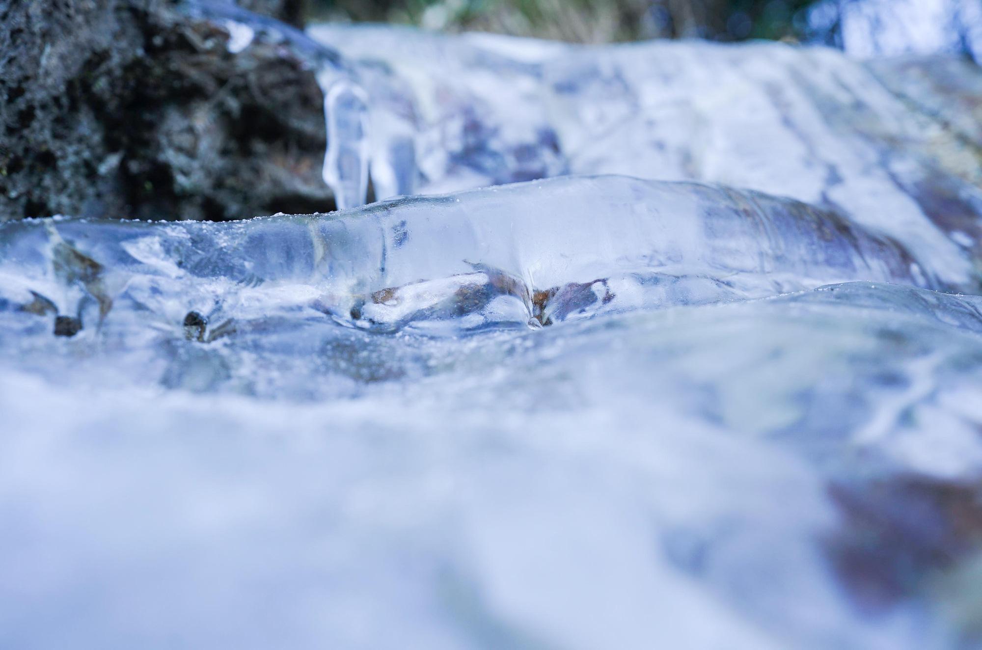 Vẻ đẹp của 'đỉnh núi bạc' Fansipan trong mùa đông Ảnh 7