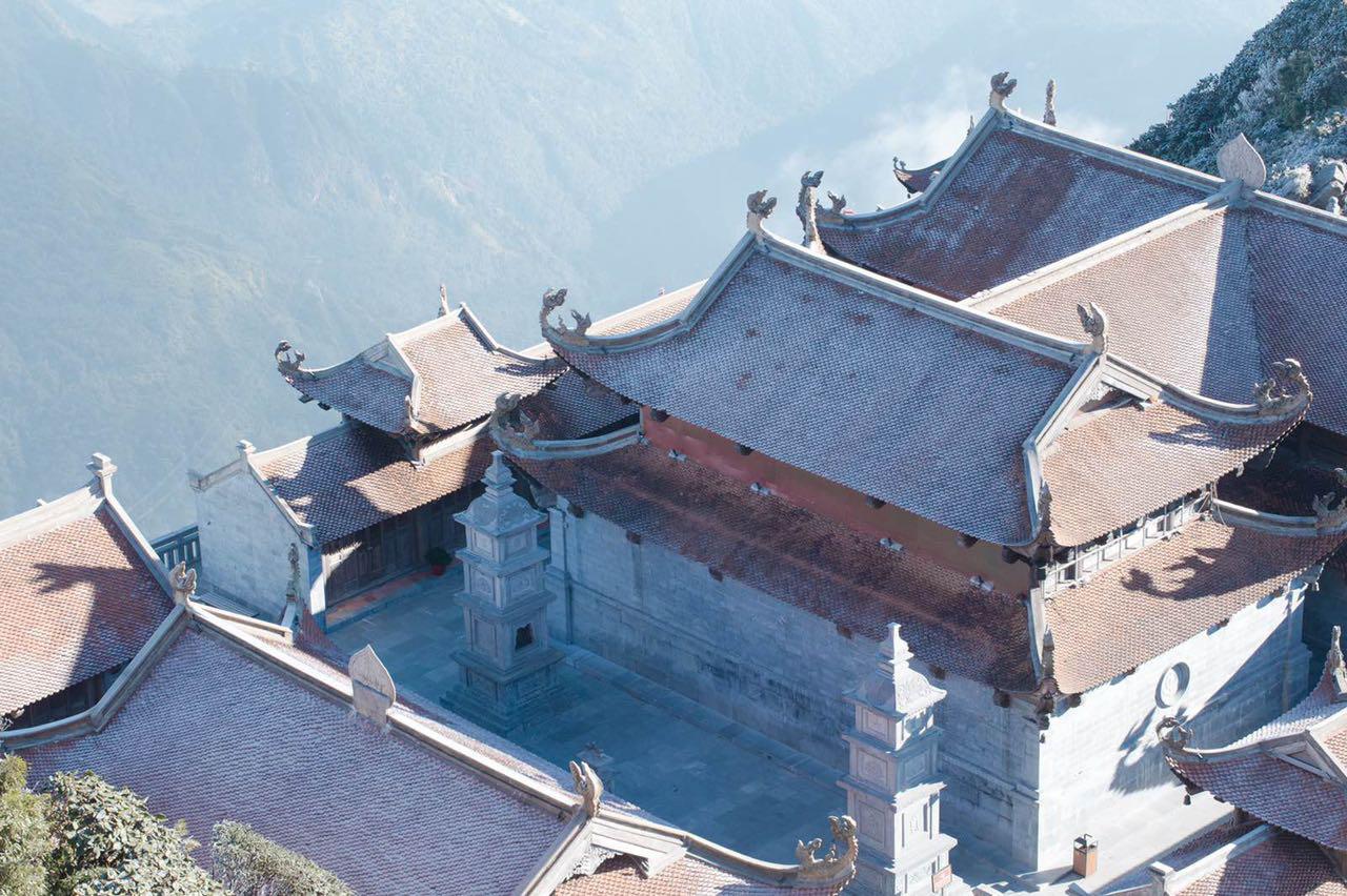 Vẻ đẹp của 'đỉnh núi bạc' Fansipan trong mùa đông Ảnh 5