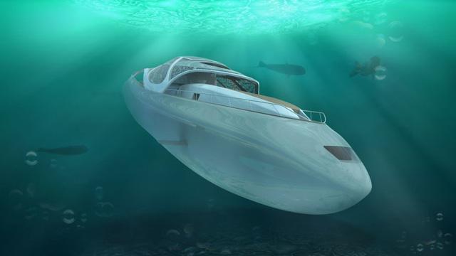 Biến siêu du thuyền thành tàu ngầm Ảnh 1