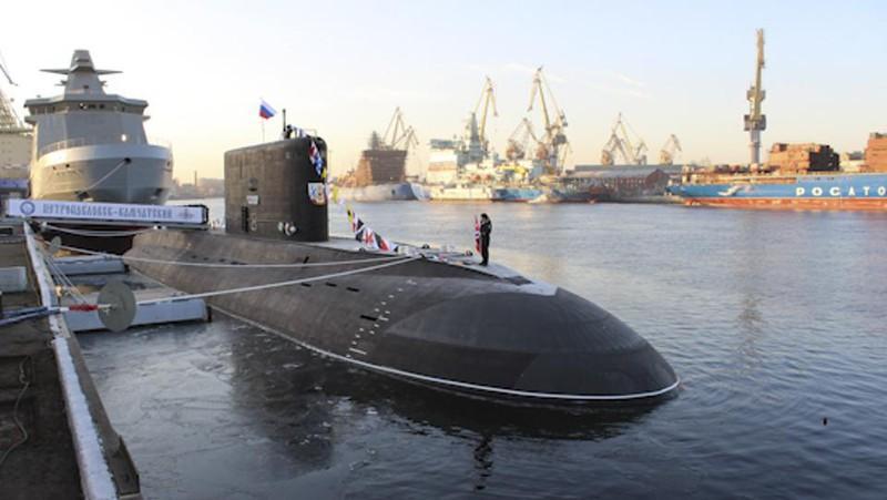 Tàu ngầm mới nhất Nga không giống bất kỳ tàu ngầm nào của Mỹ Ảnh 2