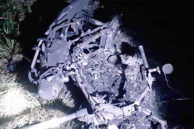 Người đàn ông nghĩa hiệp bị đuổi chém, đốt xe máy ở KĐT ĐH Quốc gia Ảnh 1