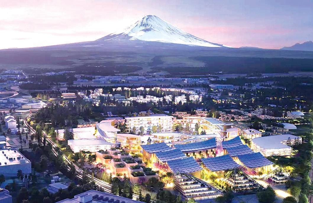 Xây thành phố tương lai gần núi Phú Sĩ Ảnh 1