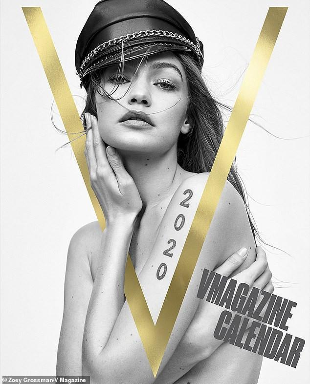 Gigi Hadid cùng dàn siêu mẫu đình đám đồng loạt 'cởi đồ' chụp ảnh lịch Ảnh 1