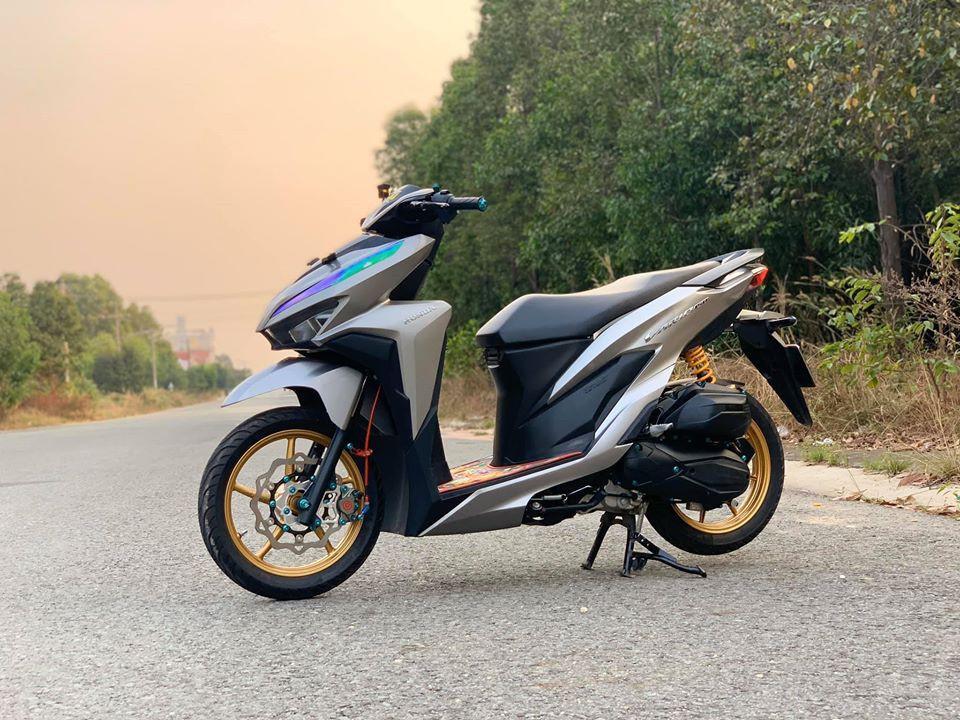Honda Vario 150 độ phong cách nhẹ nhàng bằng dàn đồ chơi cực chất Ảnh 1