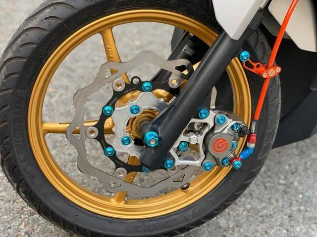 Honda Vario 150 độ phong cách nhẹ nhàng bằng dàn đồ chơi cực chất Ảnh 4